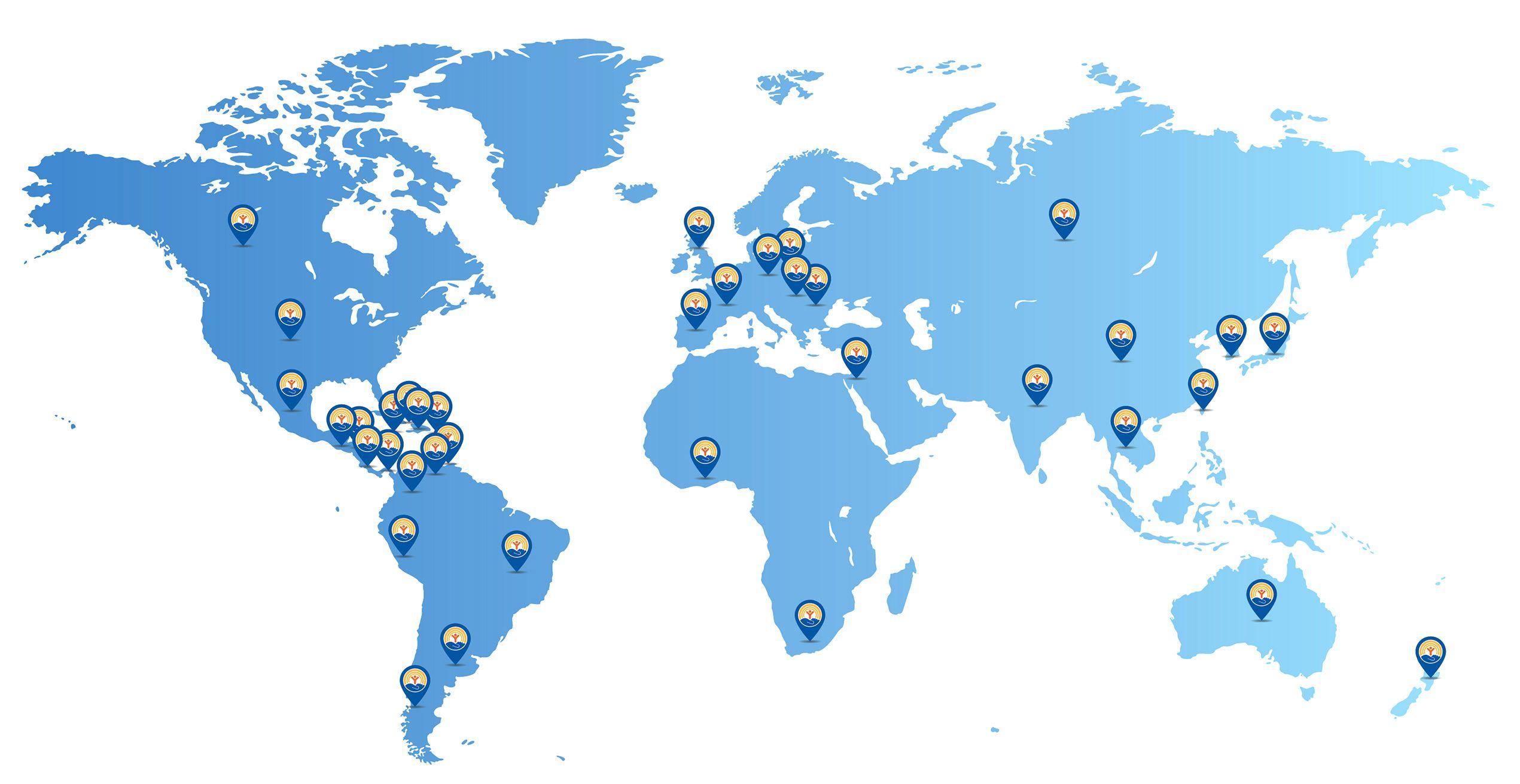 Oficinas de United Way en el mundo